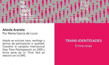¿Identidad Trans? Entrevista a Aitzole Araneta